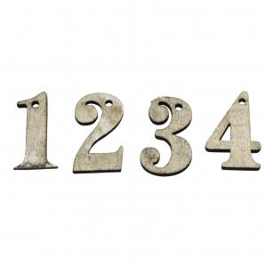 Adventzahlen 1-4 3,5cm 72Stk