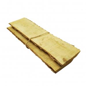 Birkenbrett länglich 35x8cm 2Stk