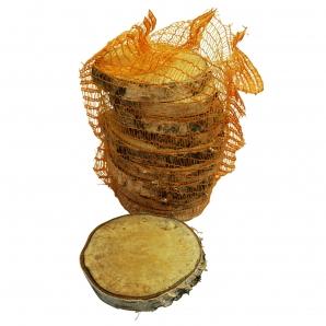 Birkenscheiben rund 14-17cm 10Stk