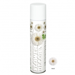 Blumenspray Flower decor weiß  400ml