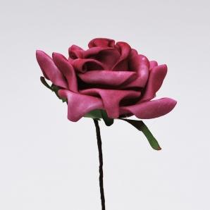 Foam-Rose erika Ø7,5cm 18Stk