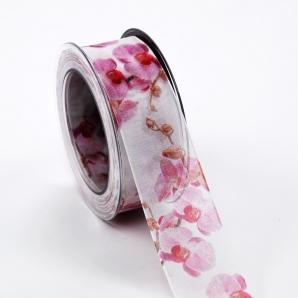 Fotodruckband Orchidee 40mm15m