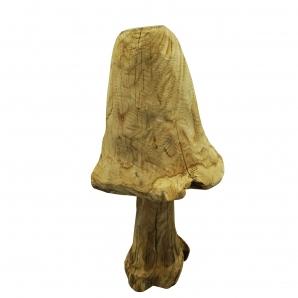 Holzpilz natur zum Hinstellen 43x17x20cm 1Stk