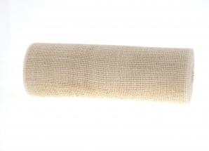 Jute Tischband creme 30cm x 10m