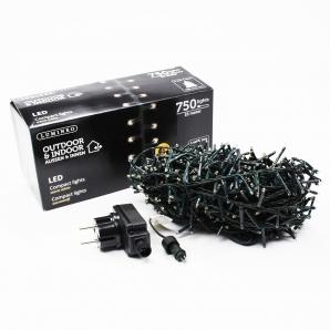 LED Lichterkette 750 Lichter 16m indoor&outdoor