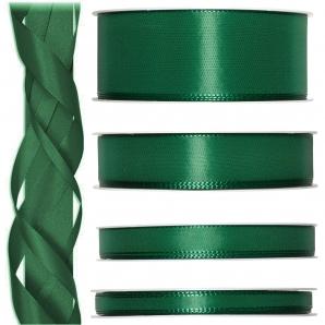 Satinband grün - tannengrün 50m in verschiedenen Größen