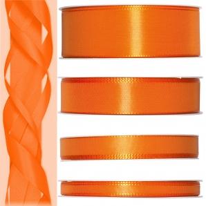 Satinband orange 50m in verschiedenen Größen