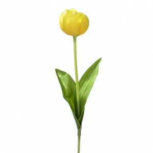 Tulpen gefüllt gelb 40cm 6Stk