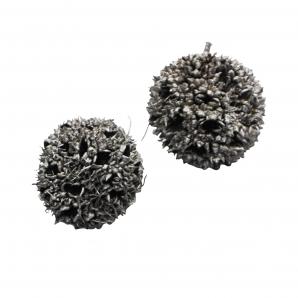 Zapfen grau geweißt sortiert Ø2-3 cm 200g