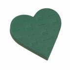 Oasis® Herz mit Hartschaumboden und Steckschaum 25x23x6cm(2St)