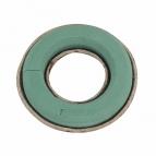 Oasis® Kranz mit Steckschaum für Frischblumen + Biolit® Unterlage 38cm(2St)