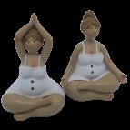 Badefrauen Yoga 2 Stk