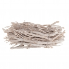 Apfelholz-Äste geweißt 30cm 1Bd