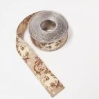 Weihnachtsband Hirsch braun 40mm20m