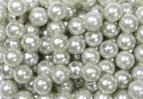 Perlen silber Ø08mm 250Stk