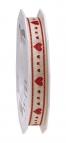 Herz Dekoband rote Herzen 15mm20m