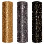 Dekostoff Pailletten in drei Farben 30cm2m 1Stk