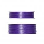 Doppel Satinband lila 50m in zwei Größen