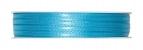 Doppel Satinband türkis 03mm x 50m