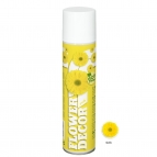 Blumenspray Flower decor gelb 400ml