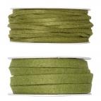 Filzband grün-dunkelgrün in zwei Größen