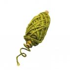 Flachskordelspule grün 3,5mm25m