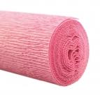 Floristenkrepp rosa - pastellrosa 50x250cm 1Rolle