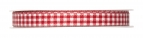 Karoband rot-weiß 10mm25m