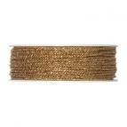 Kordel - gold 2mm50m