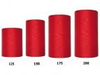 Kranzband rot in verschiedenen Breiten 25m auf der Rolle