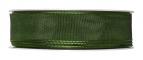 Satinband - Drahtkante grün 25mm x 25m