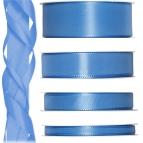 Satinband blau - hellblau 50m in verschiedenen Größen