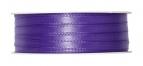 Doppel Satinband lila 6mm x 50m