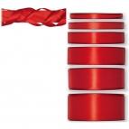 Satinband rot 50m in verschiedenen Größen
