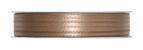 Doppel Satinband taupe 03mm x 50m