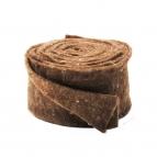 Wollband Lehner Wolle braun 13cm5m