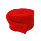 Wollband Lehner Wolle rot 13cm5m
