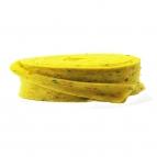 Wollband Konfetti Lehner Wolle gelb 7,5cm5m 1Stk