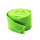 Wollband Lehner Wolle grün-lindgrün 13cm5m