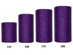 Kranzband lila in verschiedenen Breiten  25m  auf der Rolle