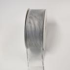 Weihnachtsband silber 40mm20m