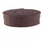 Wollband Lehner Wolle braun 7,5cm 1Stk