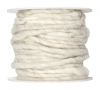 Wollschnur Wollband creme 5mm10m