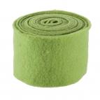 Wollband Lehner Wolle grün-moosgrün 13cm5m