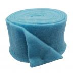 Wollband Lehner Wolle hellblau 13cm 1Stk