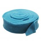 Wollband Lehner Wolle hellblau 7,5cm 1Stk