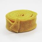 Wollband Lehner Wolle gelb - sonnengelb 7,5cm5m