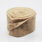 Wollband Lehner Wolle taupe 13cm5m