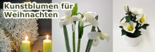 Kunstblumen & künstliche Tanne