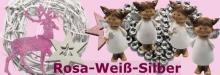 Farbthema Rosa-Weiß-Silber